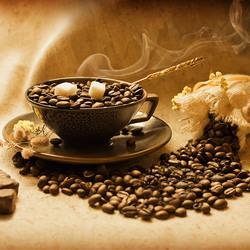 Пазл онлайн: Кофейный аромат
