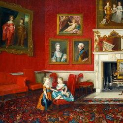 Пазл онлайн: Сыновья Георга III