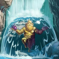 Пазл онлайн: Статуя чистого золота
