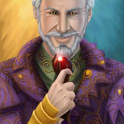 Пазл онлайн: Лорд Шеогорат