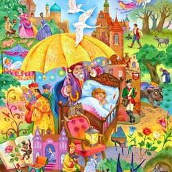 Пазл онлайн: Сказочные сны