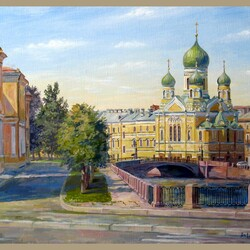 Пазл онлайн: Свято-Исидоровская церковь