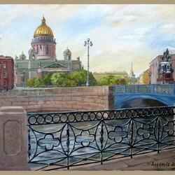 Пазл онлайн: Синий мост
