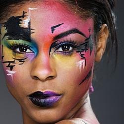 Пазл онлайн: Палитра макияжа