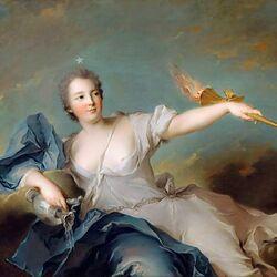 Пазл онлайн: Мария-Анна де Нель, маркиза Шатору