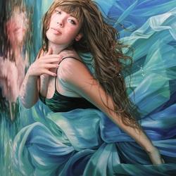 Пазл онлайн: Голубая лагуна