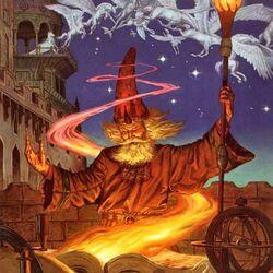 Пазл онлайн: Волшебник