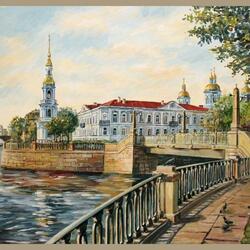 Пазл онлайн: Морской собор Святителя Николая Чудотворца