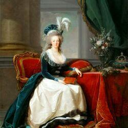 Пазл онлайн: Королева Мария-Антуанетта