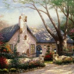Пазл онлайн: Маленький домик
