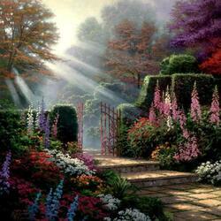Пазл онлайн: Сад Благодати