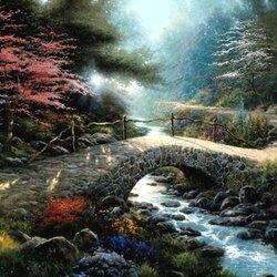 Пазл онлайн: Мост Веры