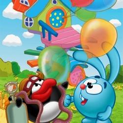 Пазл онлайн: Полет на воздушных шариках