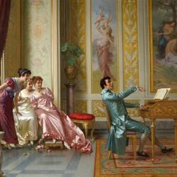 Пазл онлайн: Любимый романс