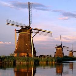 Пазл онлайн: Голландия. Мельница