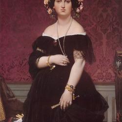 Пазл онлайн: Портрет мадам Муатессьё