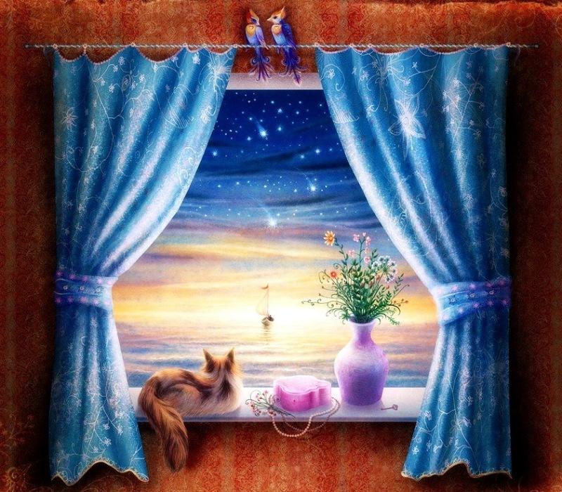 Картинки доброго утра сказочные уютные