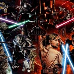 Пазл онлайн: Звездные Войны: Эпизод 3
