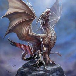 Пазл онлайн: Благородный дракон