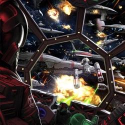 Пазл онлайн: Сражение в открытом космосе