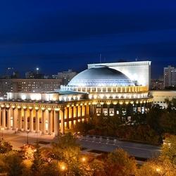 Пазл онлайн: Новосибирский театр оперы и балета