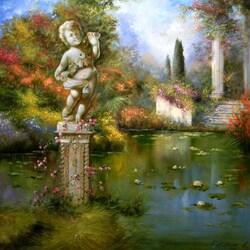 Пазл онлайн: Венецианский сад