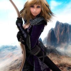 Пазл онлайн: Королевский лучник