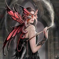 Пазл онлайн: Драконья маска