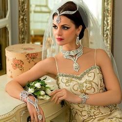 Пазл онлайн: Украшения индийских красавиц