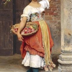 Пазл онлайн: Венецианские красавицы