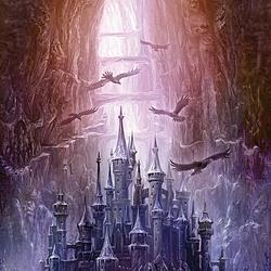 Пазл онлайн: Зачарованный замок