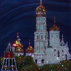 Пазл онлайн: Колокольня Ивана Великого