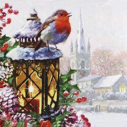 Пазл онлайн: Зимняя песня