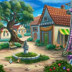 Пазл онлайн: Двор моего детства