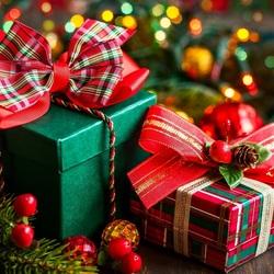 Пазл онлайн: Подарки