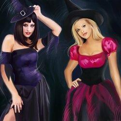 Пазл онлайн: Ведьмочки