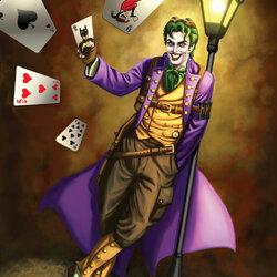 Пазл онлайн: Джокер (стимпанк)