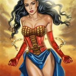 Пазл онлайн: Чудо-женщина