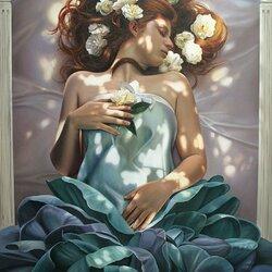 Пазл онлайн: Цветочный сон