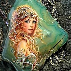 Пазл онлайн: Морская царевна