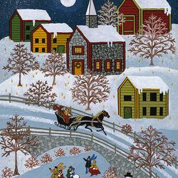 Пазл онлайн: Чудесная зима