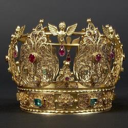 Пазл онлайн: Корона Густава II,короля Швеции