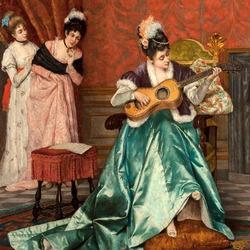 Пазл онлайн: Мелодия