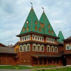 Пазл онлайн: Фрагмент дворца в Коломенском