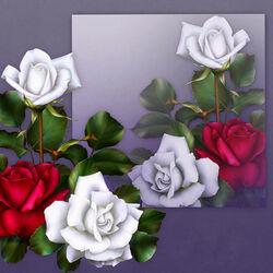 Пазл онлайн: Война роз