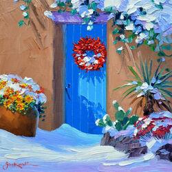 Пазл онлайн: Зима в Санта-Фе