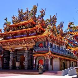 Пазл онлайн: Буддийский храм