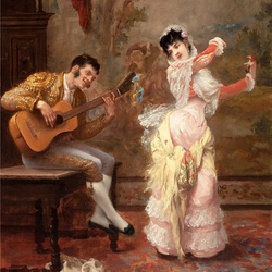 Пазл онлайн: Танец