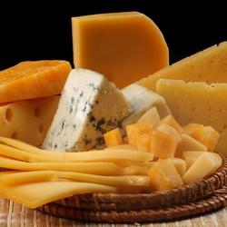 Пазл онлайн: Разные сорта сыра
