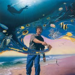Пазл онлайн: Рисуя океан
